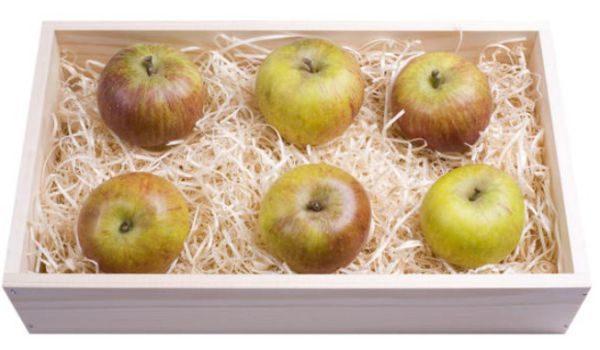 Пересыпание яблок