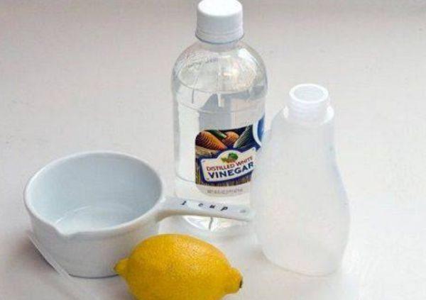 Составы с лимоном удаляют загрязнения: жировые, масляные, возникшие от белковой или растительной пищи