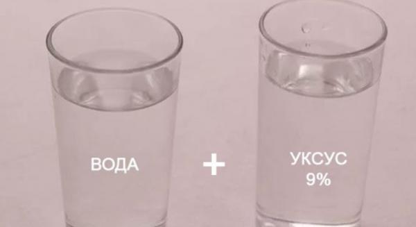 Уксус и пищевая сода в пропорции 6:1 нейтрализуют статические заряды