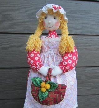 Куклы с юбкой для хранения пакетов