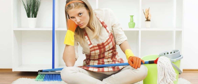 Как убрать квартиру за 15 минут