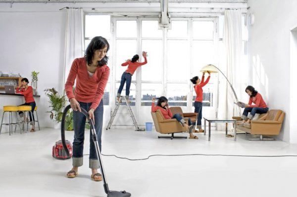 Ежедневно уделять уборке 15-20 минут