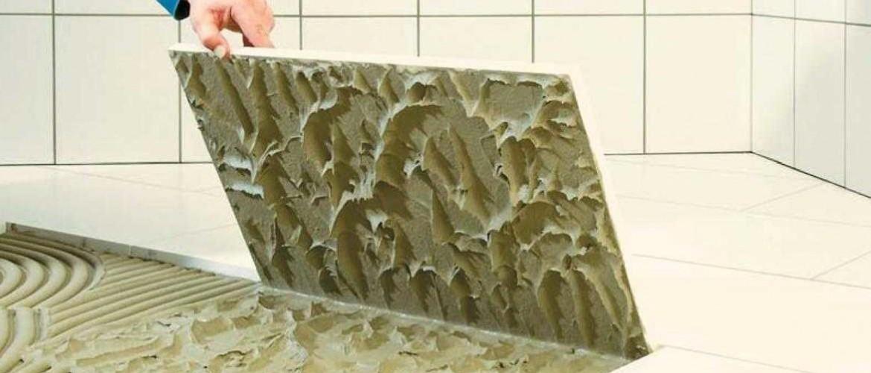 Как очистить плитку от плиточного клея