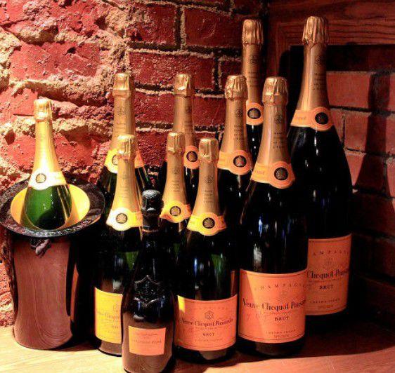 Шампанское нуждается в особых условиях хранения