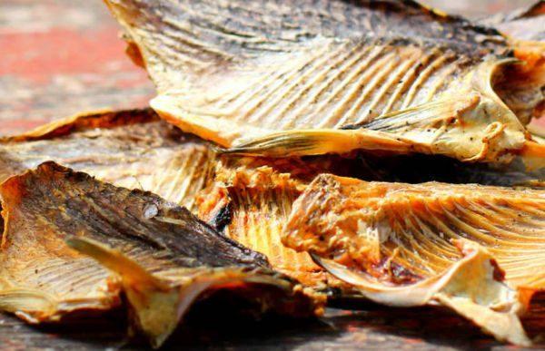 Для сбережения вяленой и сушеной рыбы используется специальная упаковка