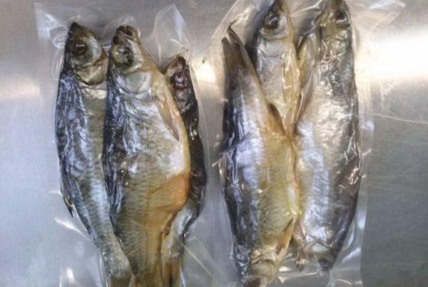 Хранение вяленой рыбы в вакуумных пакетах