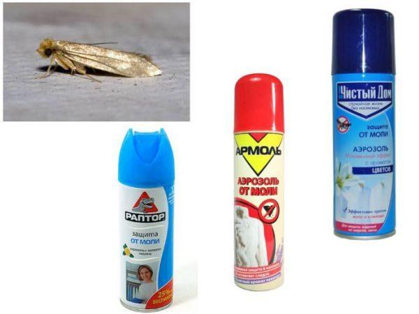 Химические средства против моли