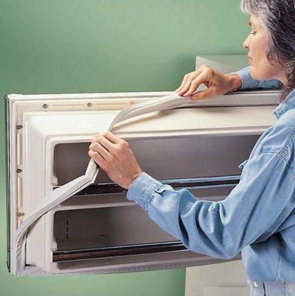 Процесс замены уплотнительной резинки на холодильнике