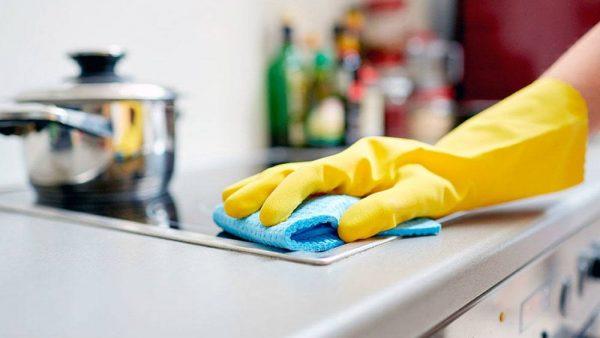 Современные средства для очистки жира на кухне
