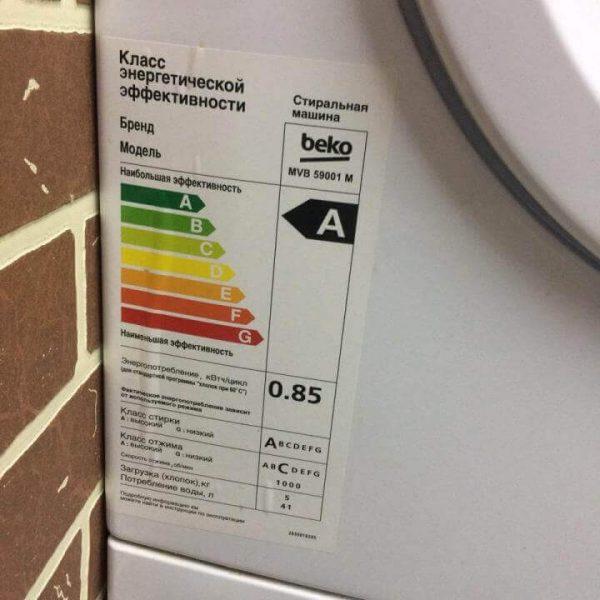 Как определить мощность стиральной машины?