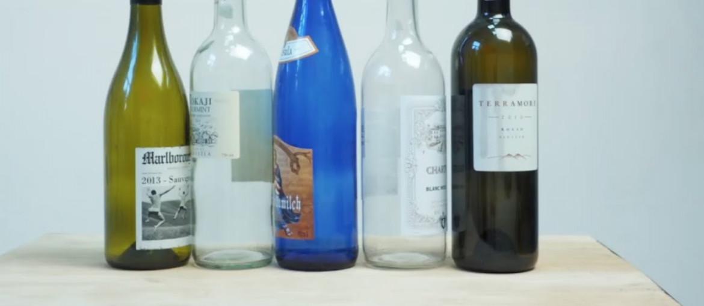 Как снять этикетку с бутылки без следов: эффективные способы очищения