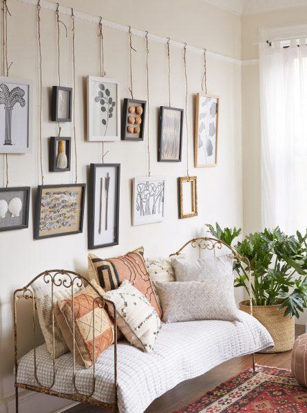 Леска и плинтус для потолка