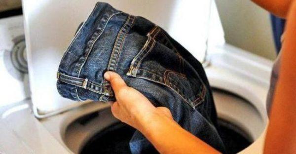 Как стирать джинсы: правила