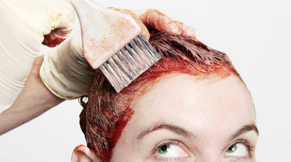 Как удалить тоник для волос с кожи?