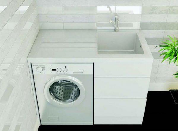 Особенности стиральной машинки под раковину