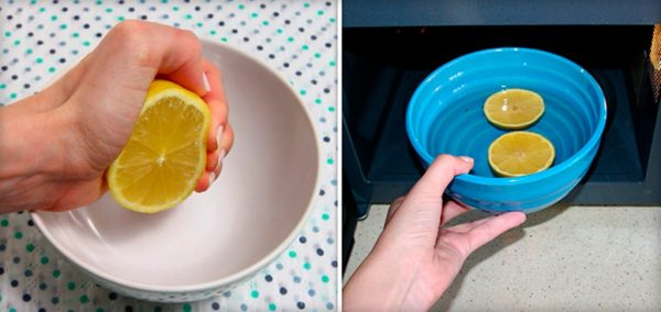 Способы быстрого избавления от запахов в микроволновке