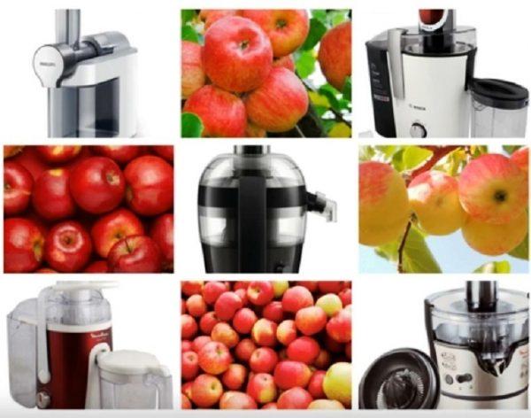 Модели большой производительности для сока из яблок
