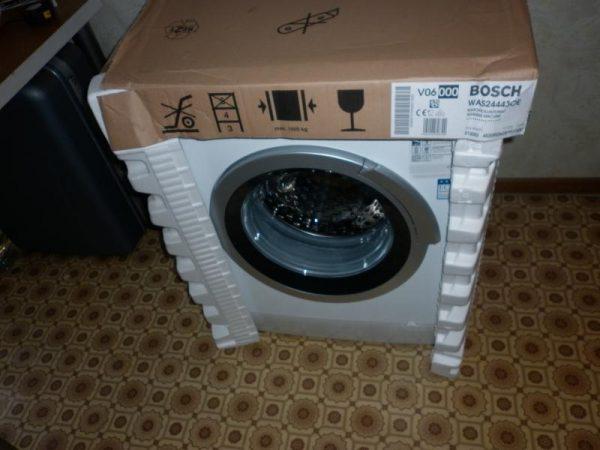 Подготовка к запуску новой стиральной машинки
