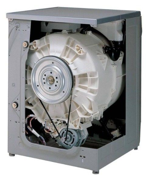 Устройство стиральной машины-автомат