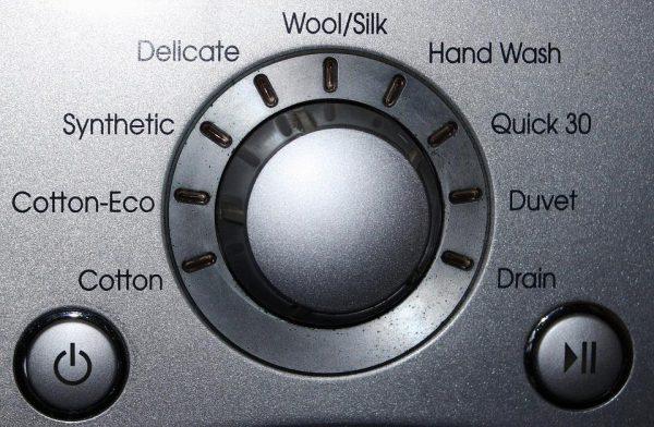 Режимы стирки в стиральной машине: описание основных и дополнительных, экономные программы