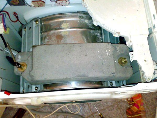 Противовес стиральной машины