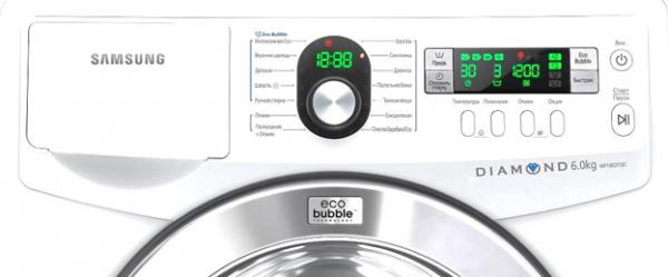 Значки на стиральной машине Самсунг