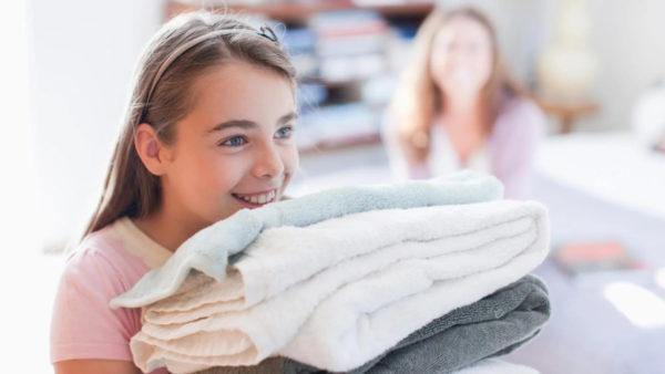 Устраняем неприятный аромат с кухонных полотенец